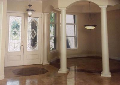 Custom Built Luxury Home Entry