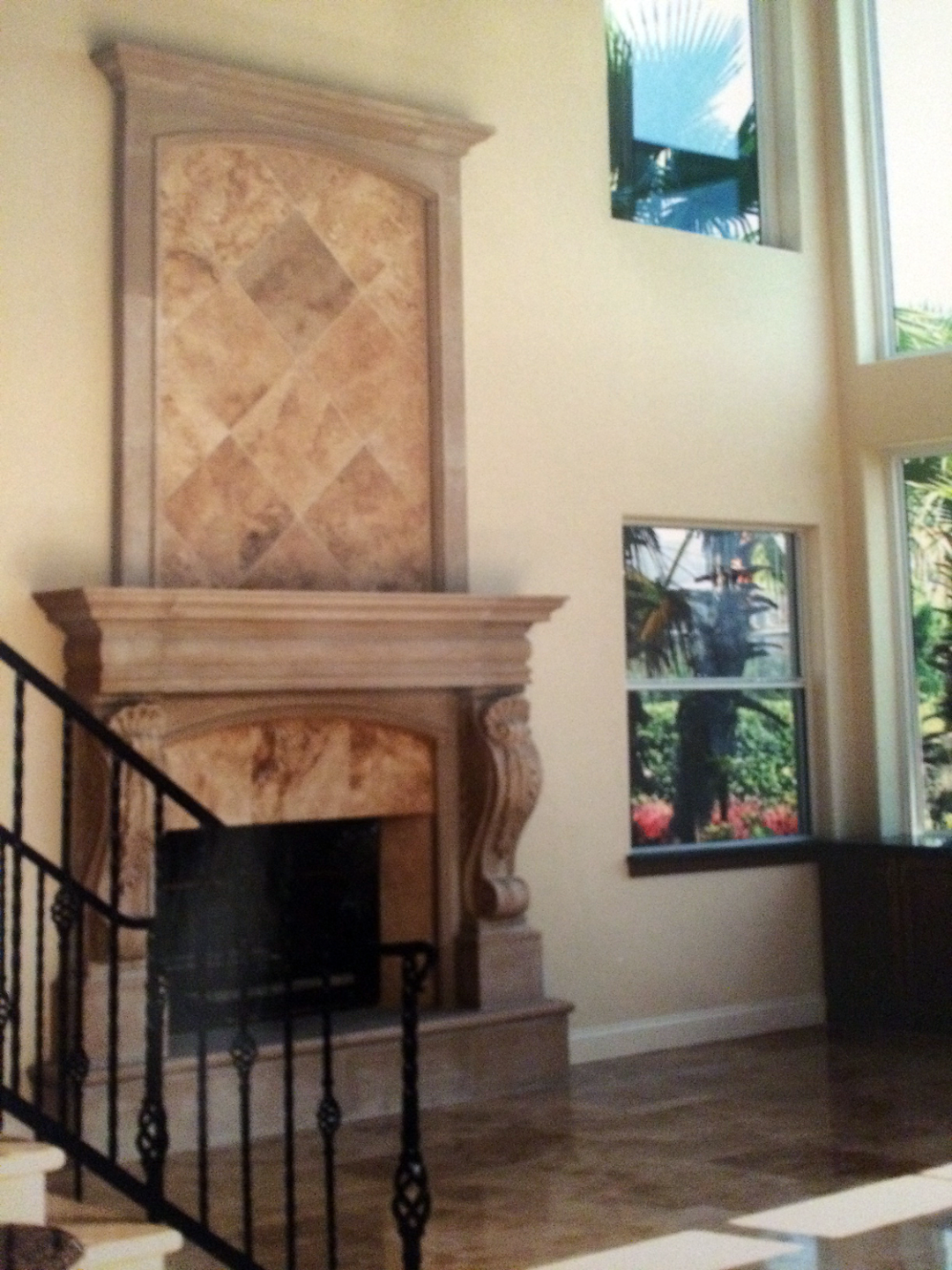 Custom Built Luxury Fireplace